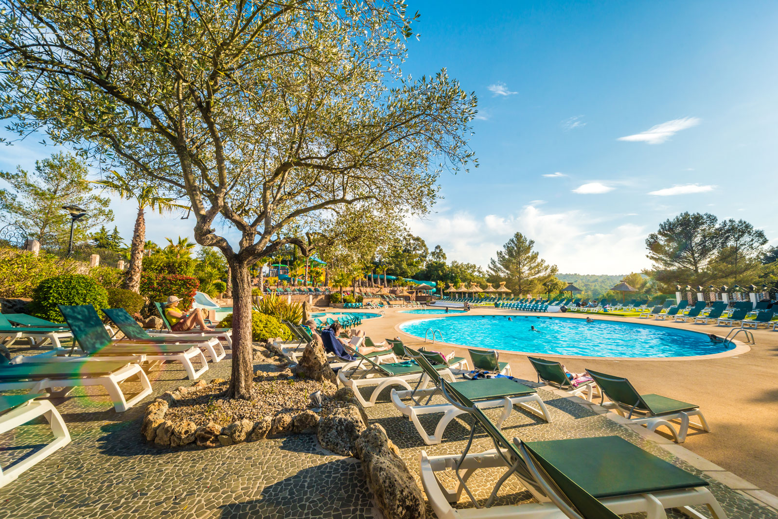 Esterel caravaning 5 star campsite on the french riviera